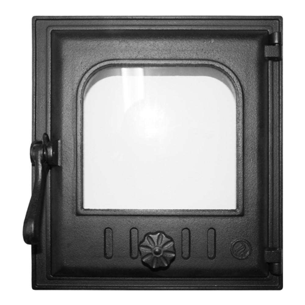 Дверца K402 топочная 250х280 мм герметичная