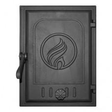 Дверца K413 топочная 250х350 мм герметичная