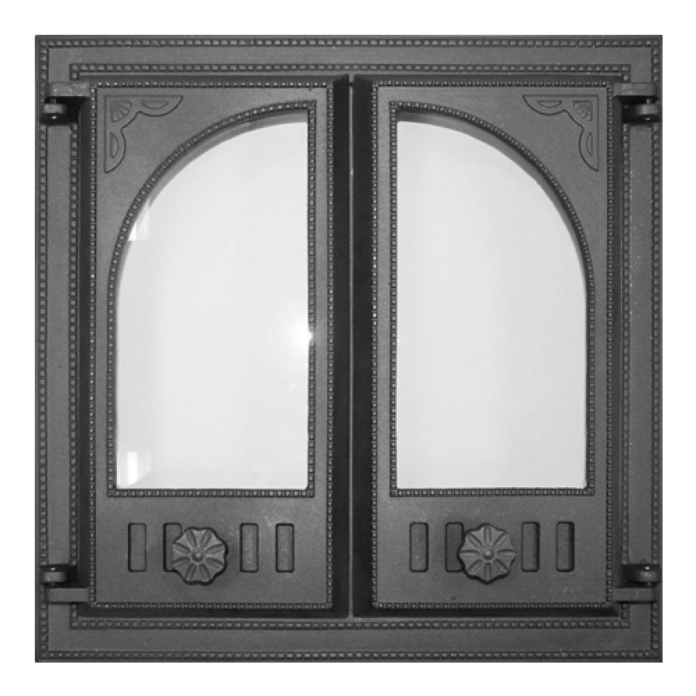 Дверка топочная K501 410х410