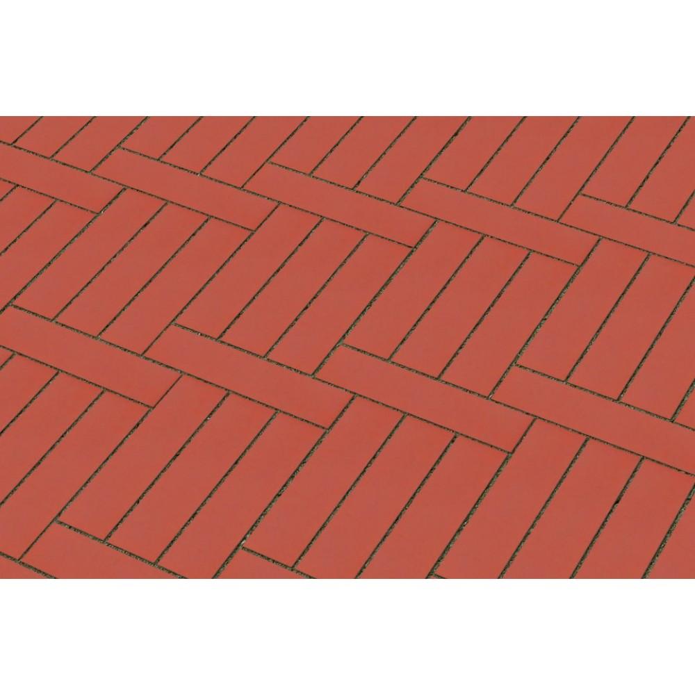 Кирпич полнотелый красный гладкий 250х45х65 Lode