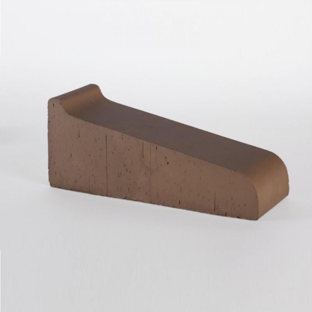 Подоконник большой коричневый 295х115х88 Lode
