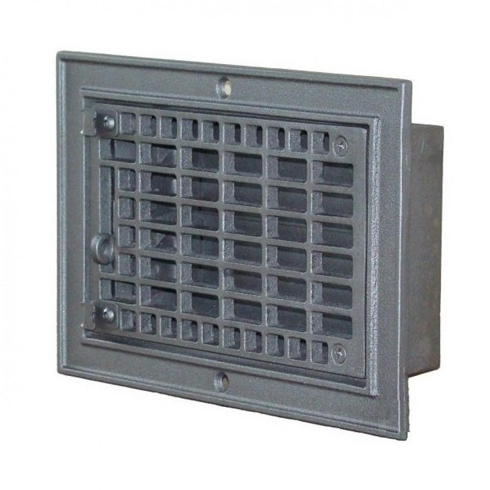 H3701 Чугунная вентиляционная решетка 210х310мм
