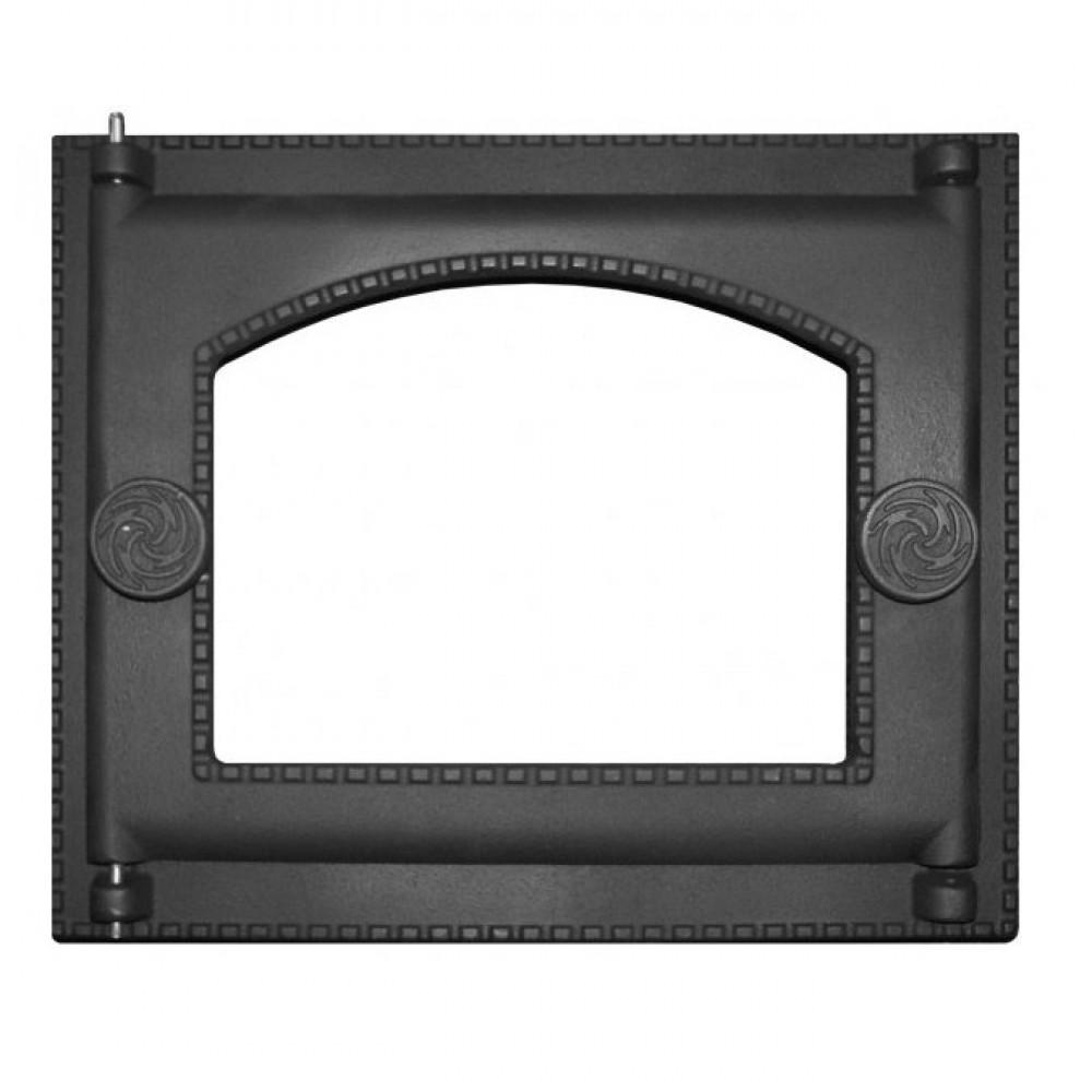 Дверка топочная крашеная ДТ-6АС со стеклом
