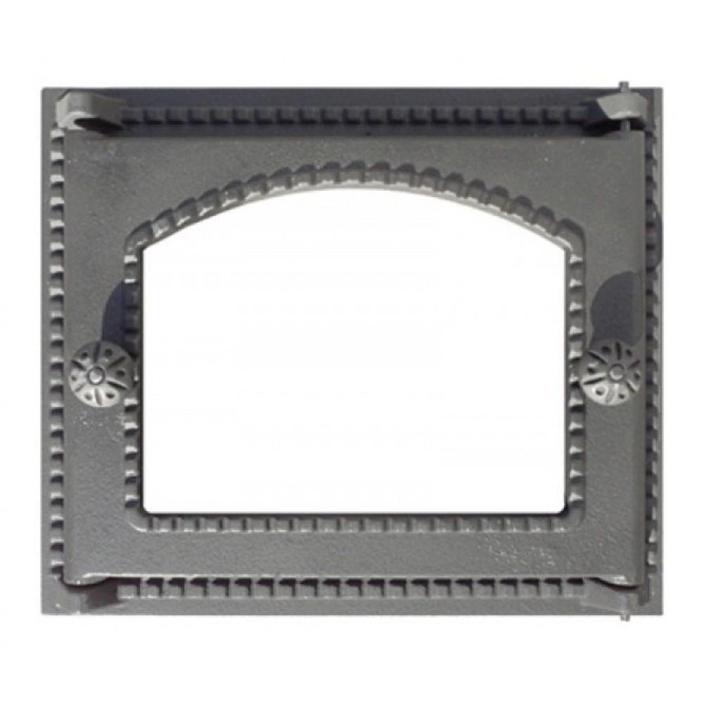 Дверка топочная ДТ-6С со стеклом