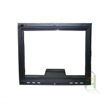 H0326 Дверца под стекло с зольником FPL6 740х625