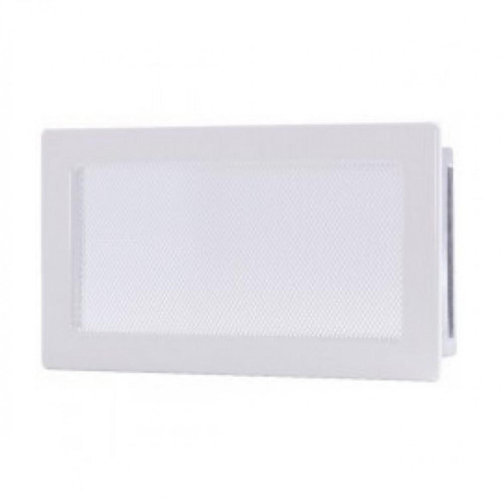 Вентиляционная каминная решетка белая 170х300 Kratki