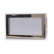 Вентиляционная каминная решетка золото 170х300 Kratki