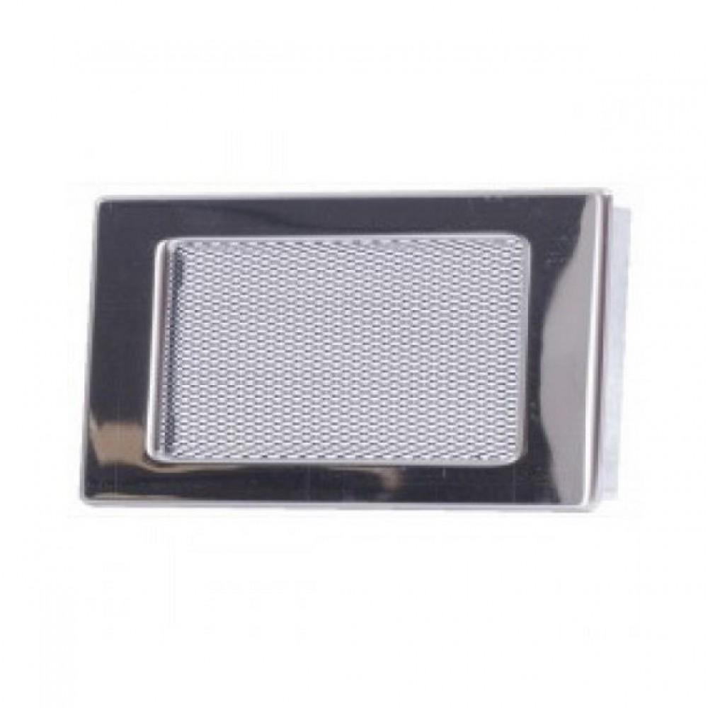Вентиляционная каминная решетка никель 110х170 Kratki