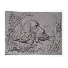 H0514 Чугунная плита Собака с уткой