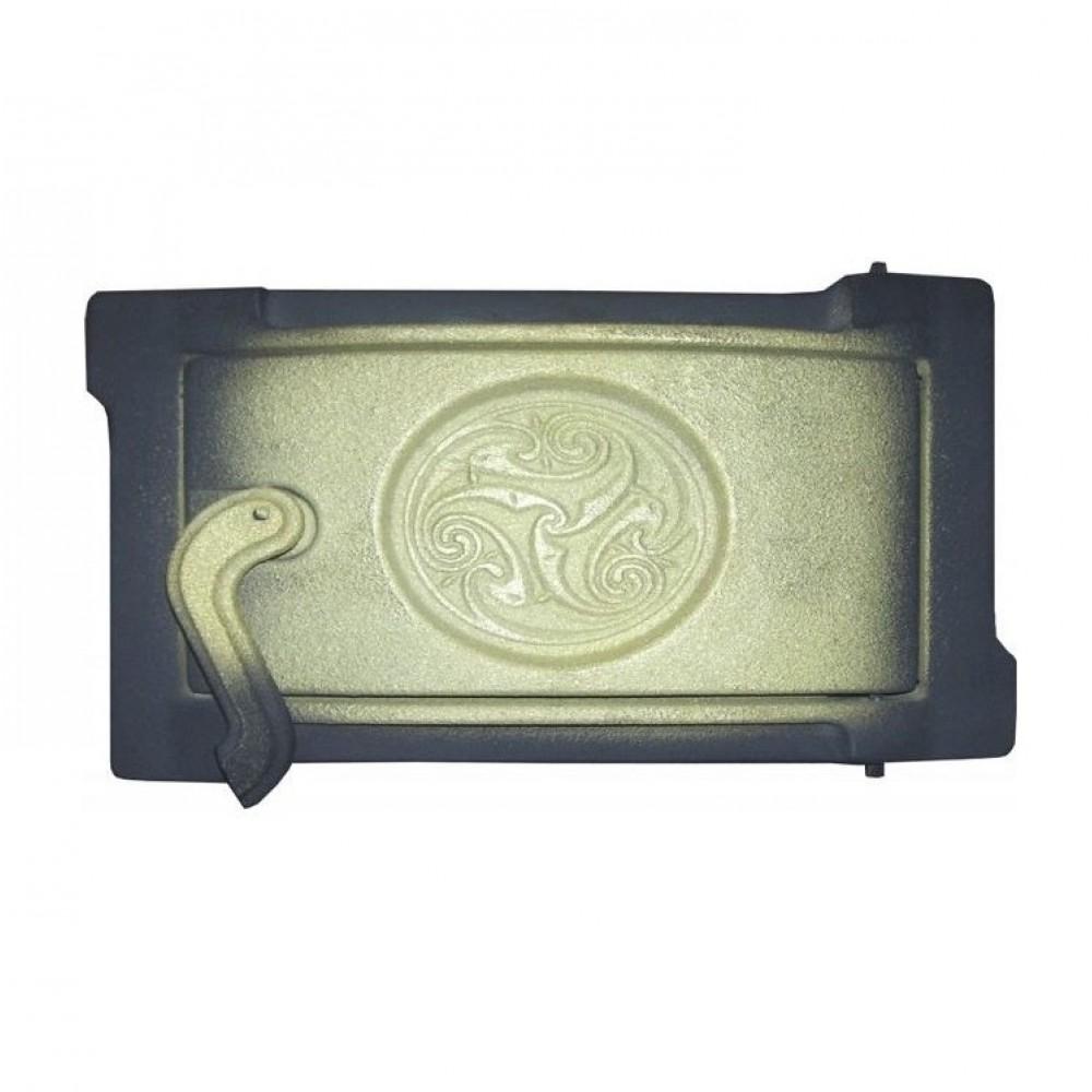 Дверка поддувальная уплотненная крашеная ДПУ-2Б