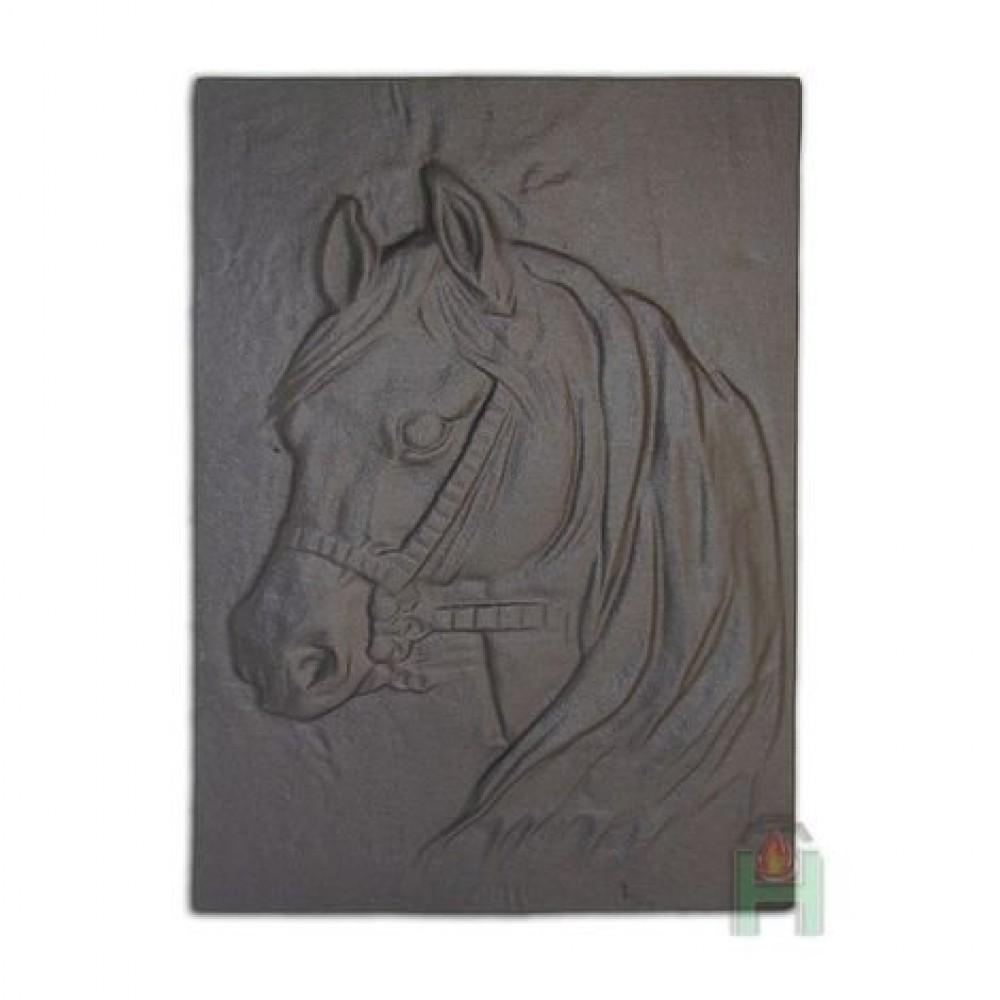 H0508 Чугунная каминная плита Лошадь