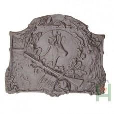 H0515 Чугунная плита Голова оленя