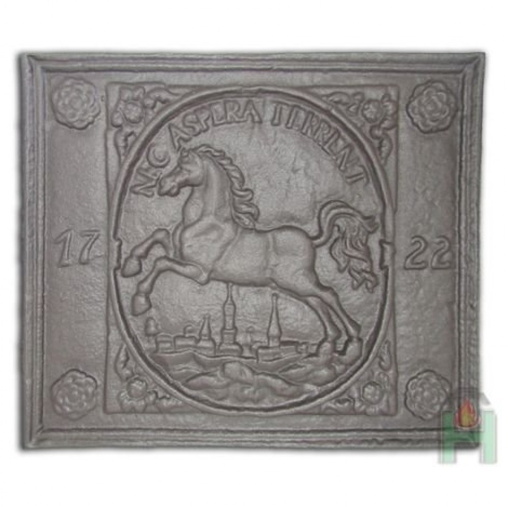 H0510 Чугунная плита «Брауншвейгерский герб 1722»