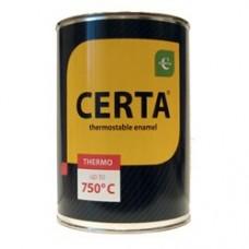 Краска термостойкая CERTA В ассортименте +750°C Под кисточку