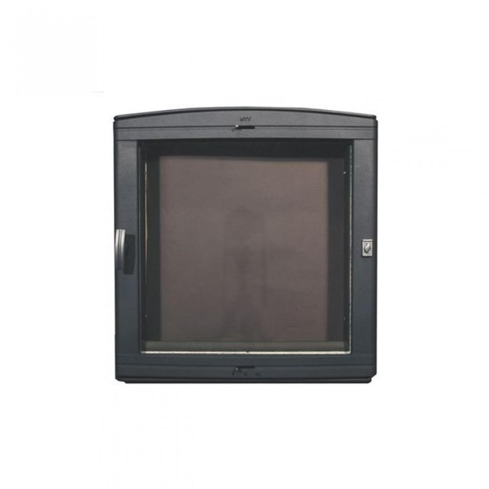 501 HTT Каминная дверца (чёрная)