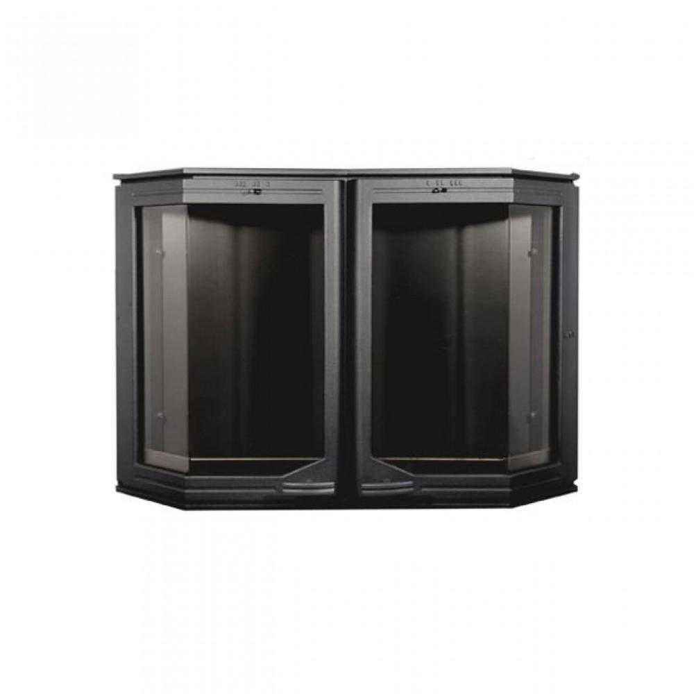 520 HTT Каминная дверца Эркер (чёрная)