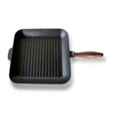 Сковорода «Берлика» с дер. ручкой гриль