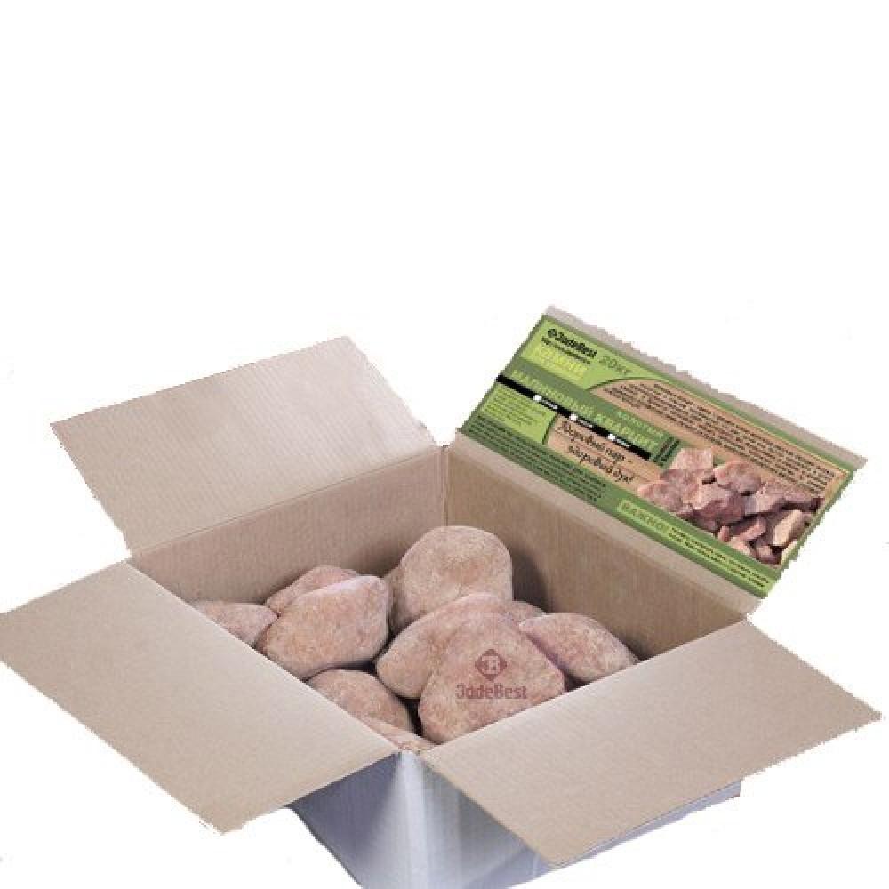 Малиновый кварцит галтованный 20 кг Jadebest