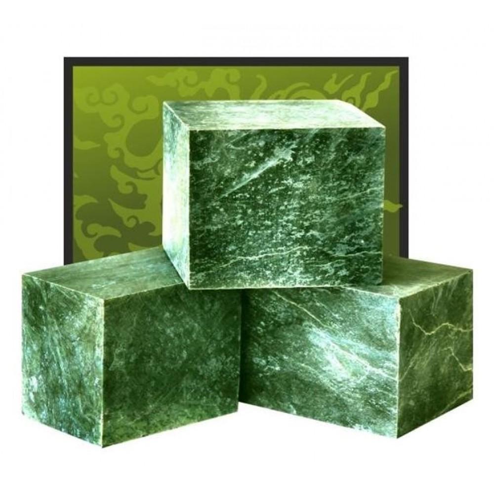 Нефрит кубики 10 кг Огненный Камень