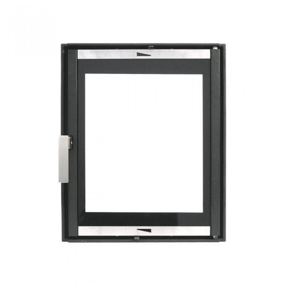 626 HTT Каминная дверца (чёрная)