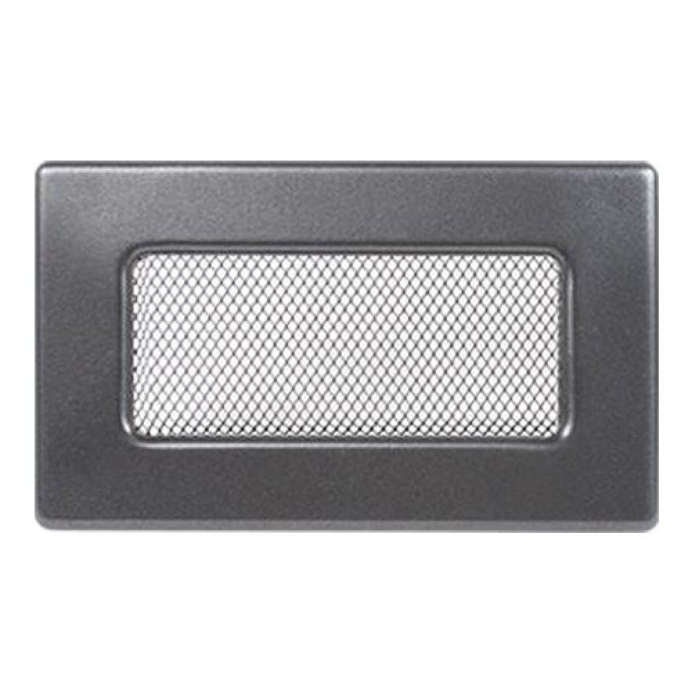 Вентиляционная решетка 110х170 мм. графит