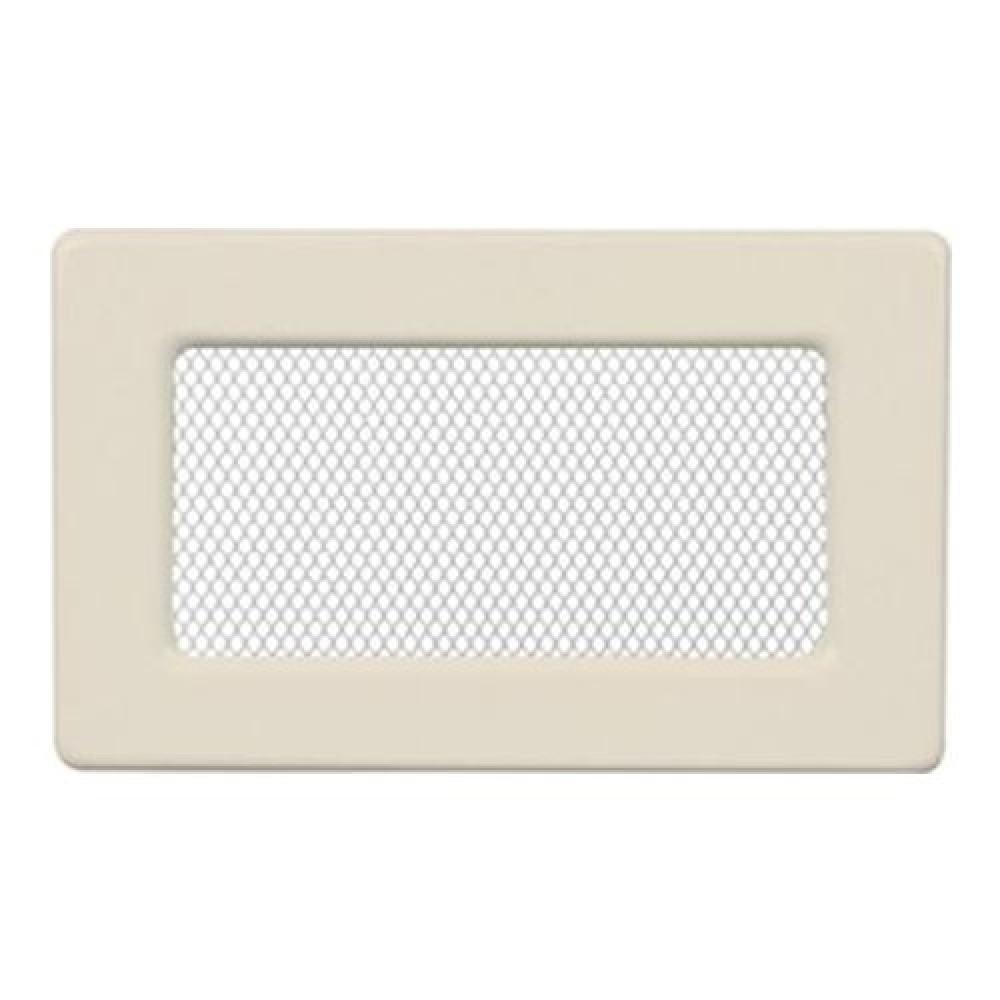 Вентиляционная решетка 110х170 мм. кремовый
