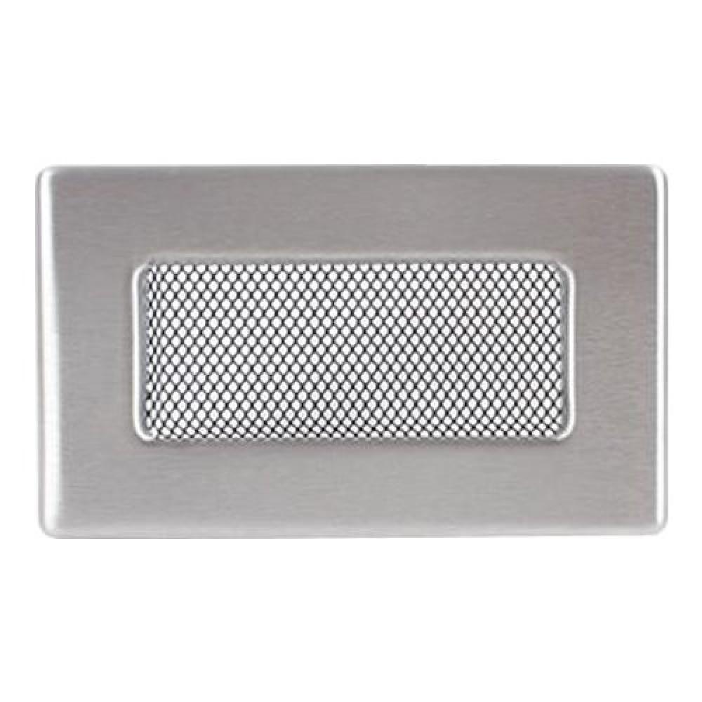 Вентиляционная решетка 110х170 мм. нерж.