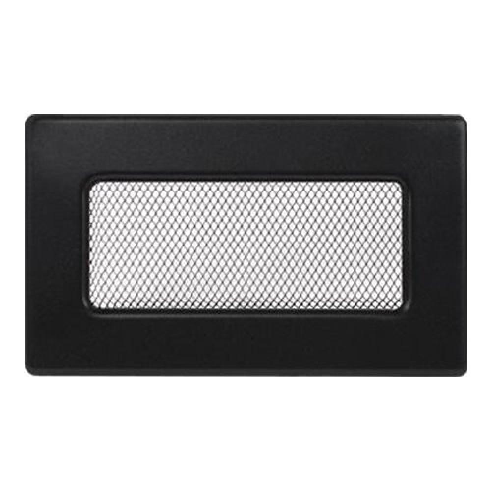 Вентиляционная решетка 110х170 мм. черный