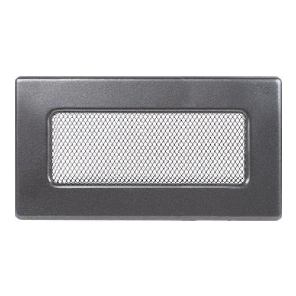 Вентиляционная решетка 110х240 мм. графит