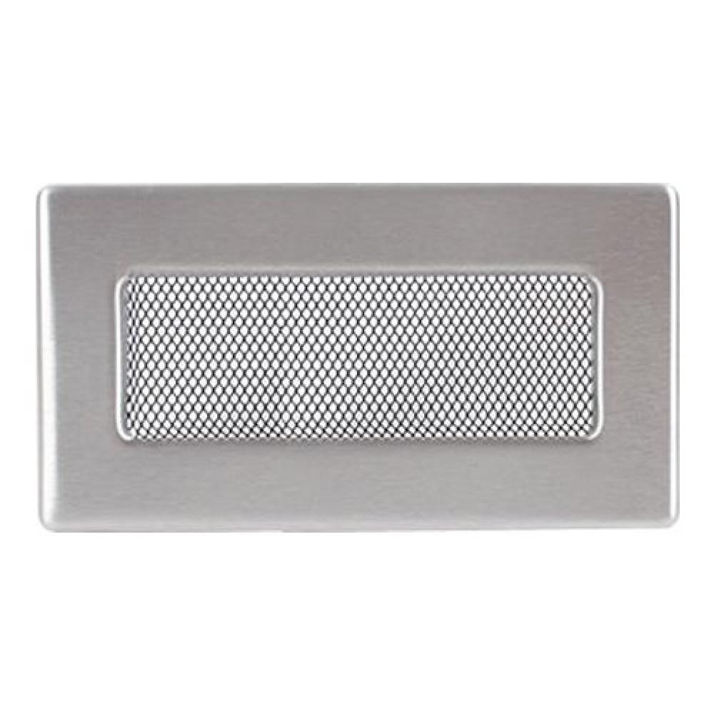 Вентиляционная решетка 110х240 мм. нерж.