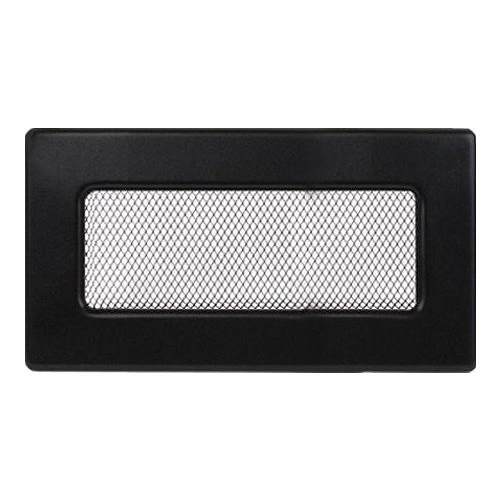 Вентиляционная решетка 110х240 мм. черный