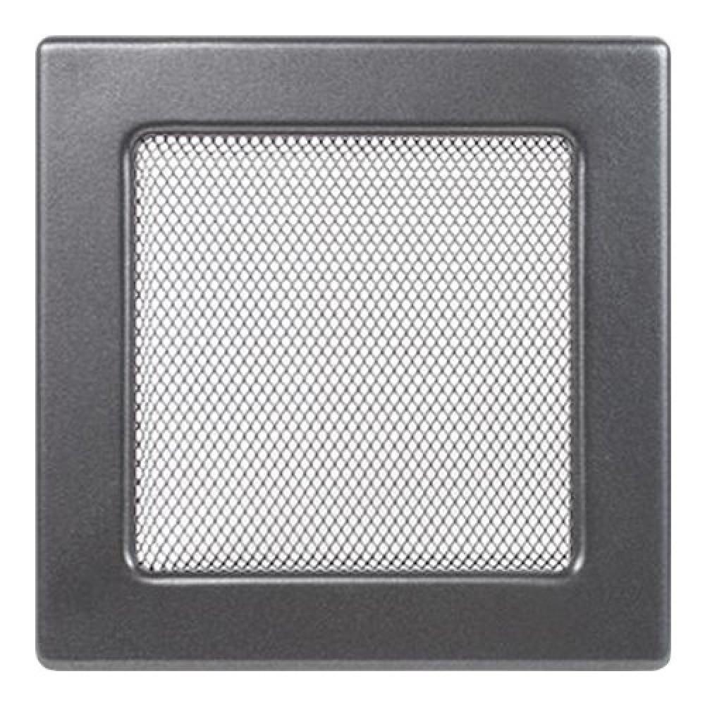 Вентиляционная решетка 170х170 мм. графит