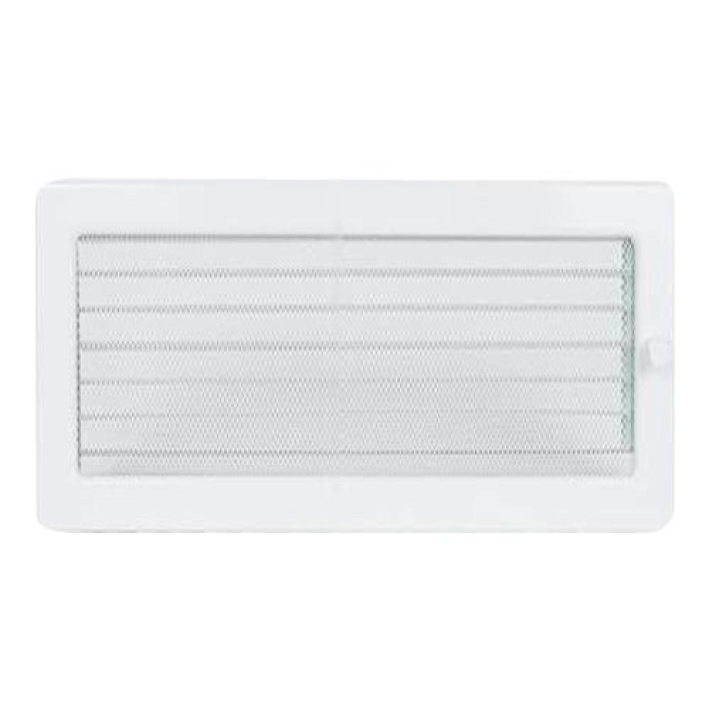 Вентиляционная решетка 170х300 мм. белый с жалюзи
