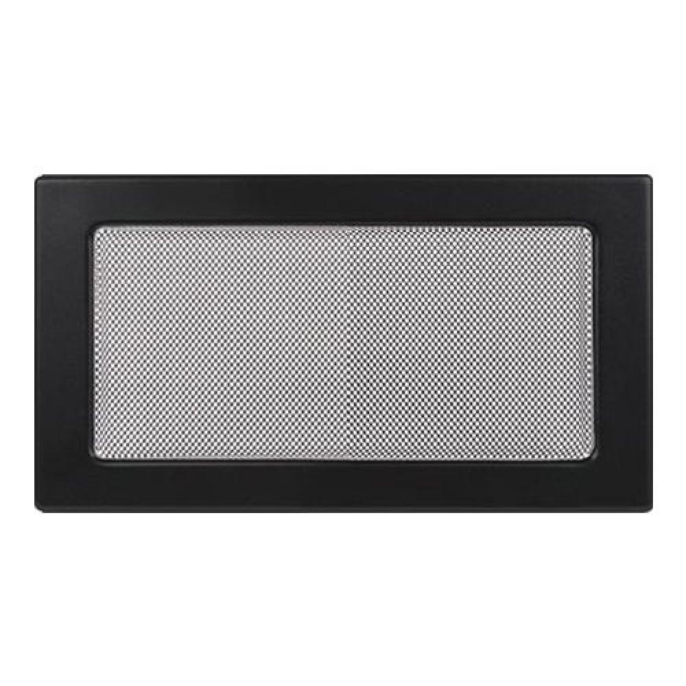 Вентиляционная решетка 170х300 мм. черный