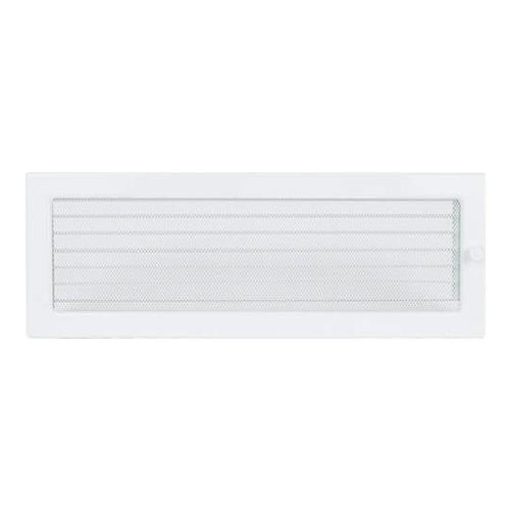 Вентиляционная решетка 170х480 мм. белый с жалюзи