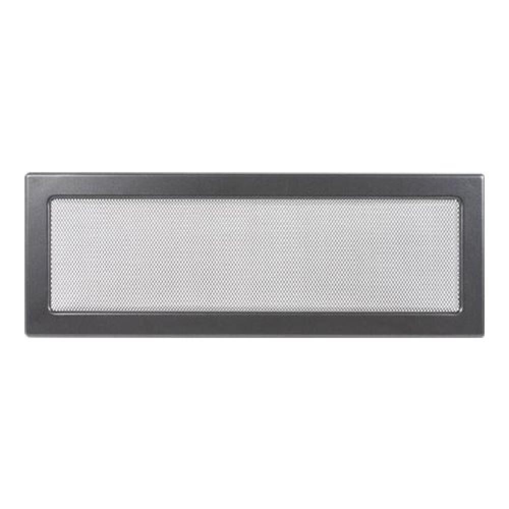Вентиляционная решетка 170х480 мм. графит