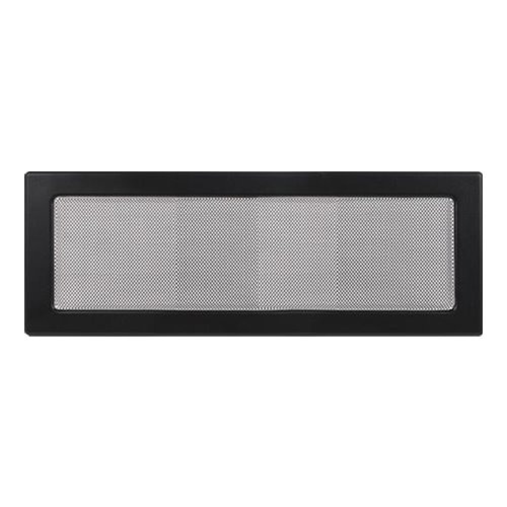 Вентиляционная решетка 170х480 мм. черный