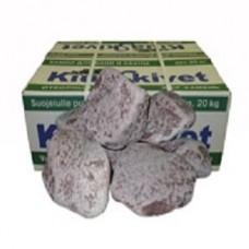 Малиновый кварцит обвалованный 20 кг Карелия