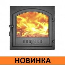 Дверка топочная ДКГ-7С со стеклом НОВИНКА