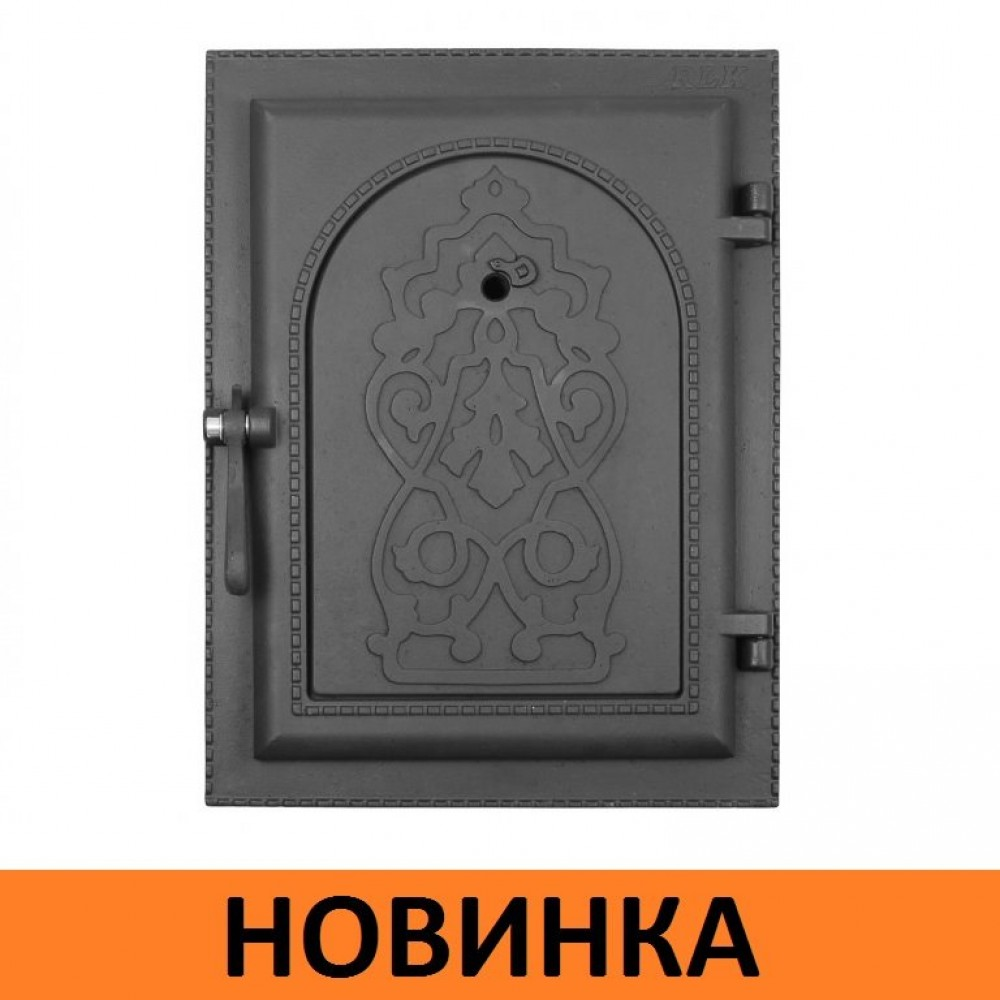 Дверка топочная ДКУ-9А глухая НОВИНКА