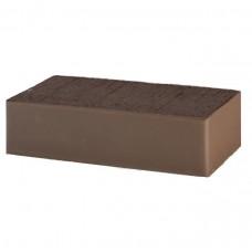 Кирпич Lode полнотелый коричневый гладкий 250х120х65
