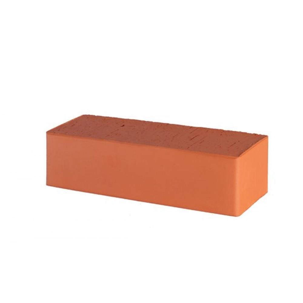 Кирпич полнотелый красный гладкий фасадный 250х85х65 Lode