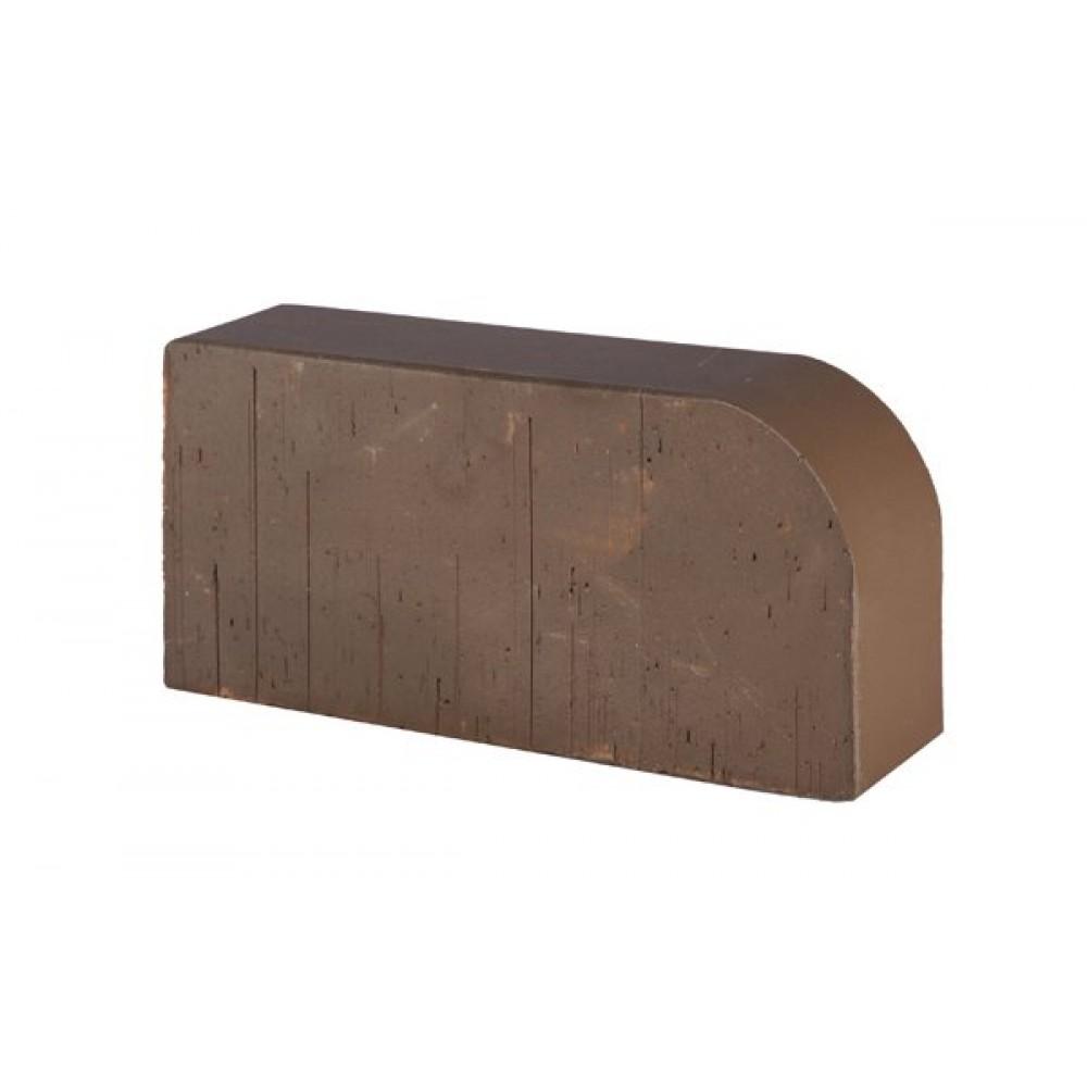 Кирпич полнотелый коричневый гладкий R-60 (F15) Lode