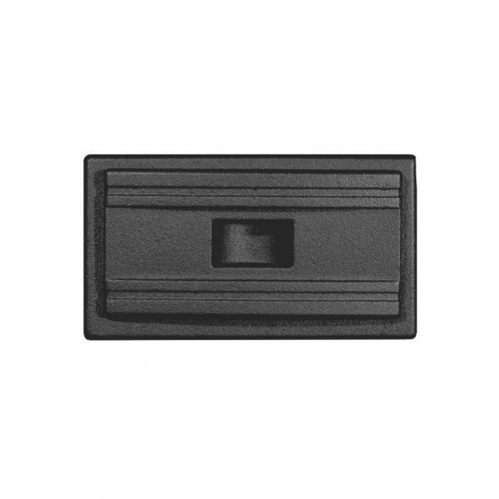 506 HTT Зольная заслонка (чёрная)