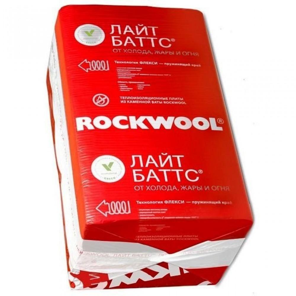 Плиты из каменной ваты Rockwool Лайт Баттс