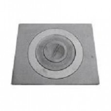 Плита 1-конфорочная П1-2 410х340мм с ребрами жесткости Полоцк