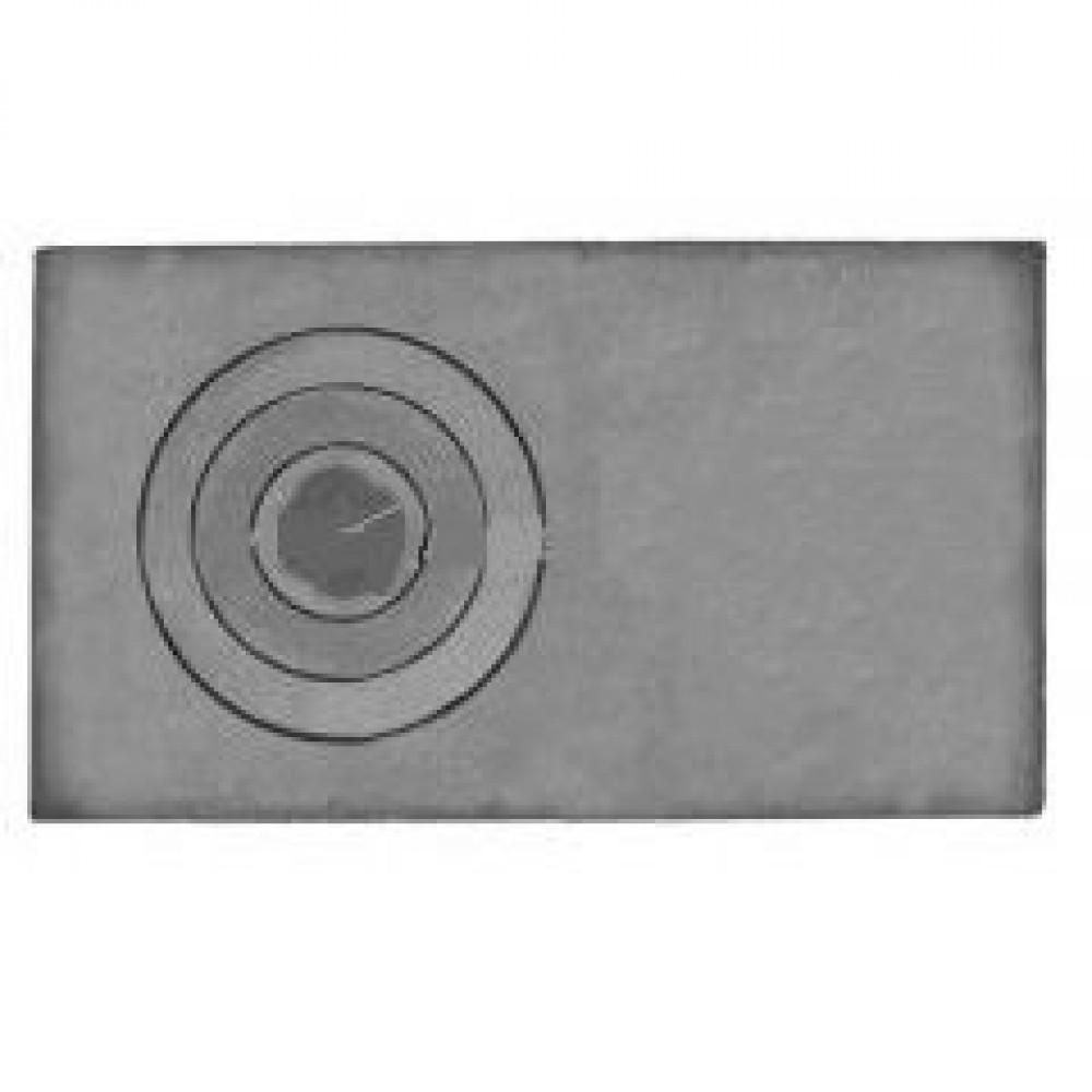 Плита полуглухая П1-3А 710х410х15мм Полоцк