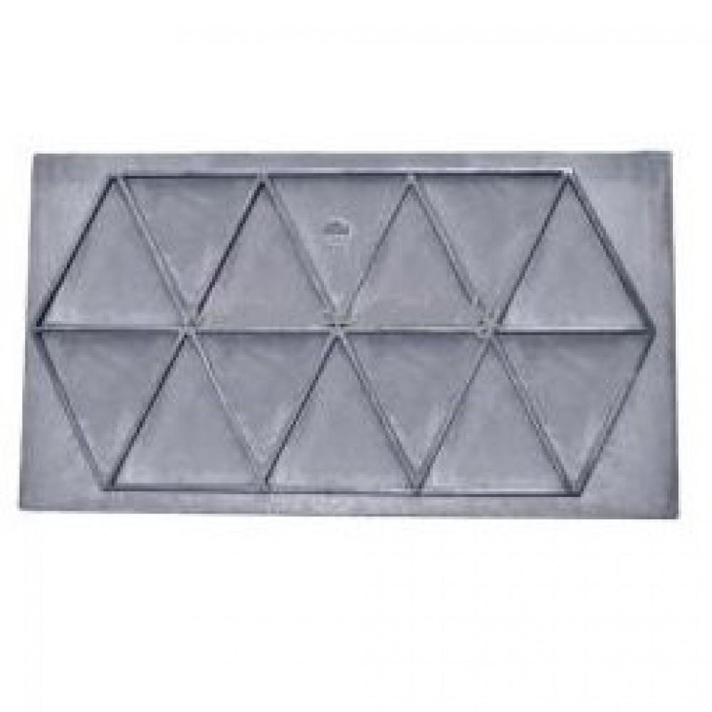 Плита цельная П0-10 с ребрами жесткости 710х410х15мм Полоцк