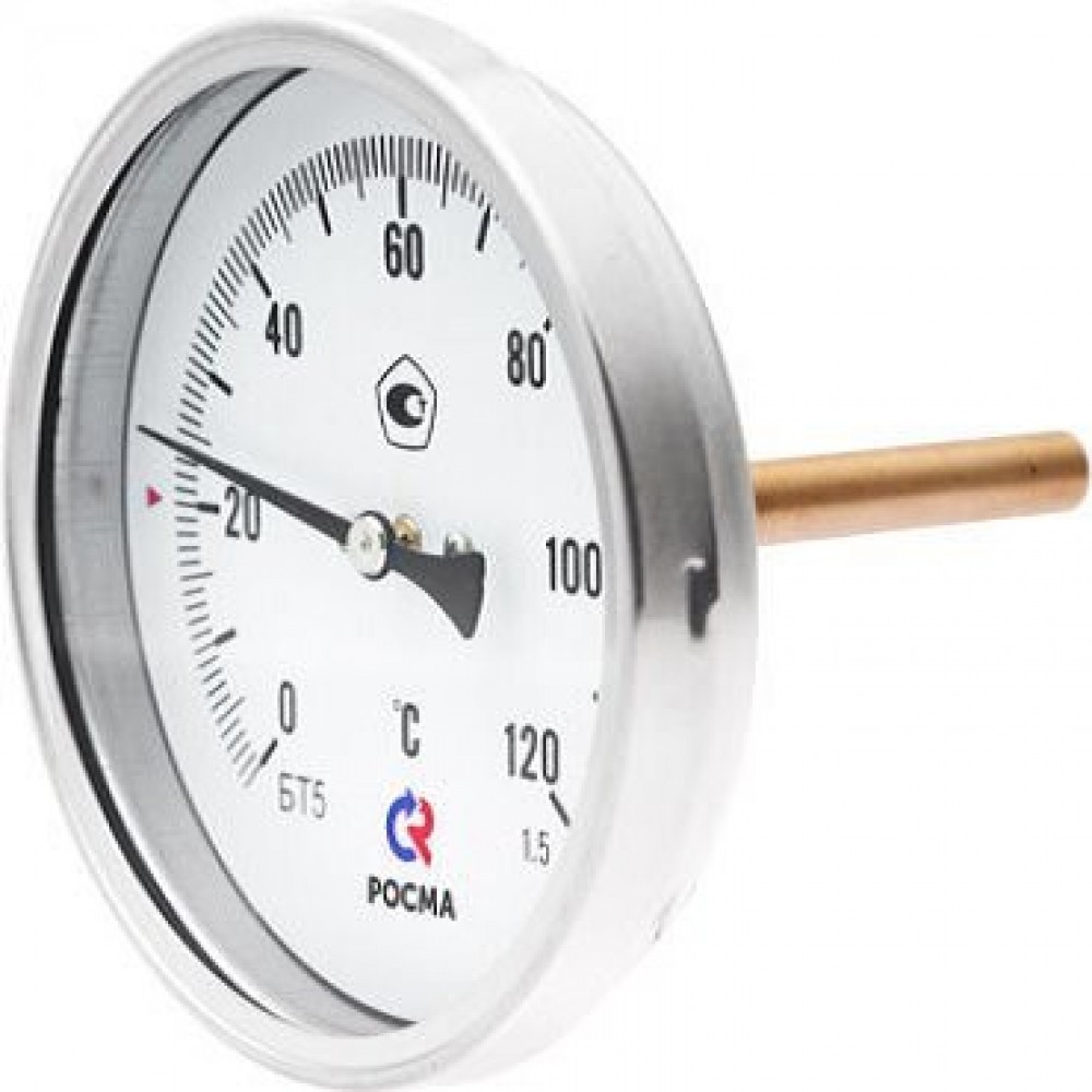 Термометр БТ-31 63мм 350С Шток 64х6мм