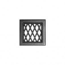 Решетка каминная чугунная Каро 120х120 Tarnavva